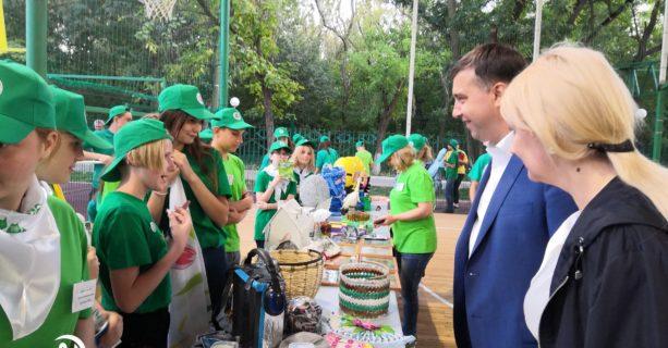 Участие в областном слете юных экологов 2019